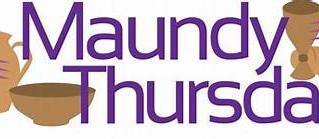 Virtual Maundy Thursday Service
