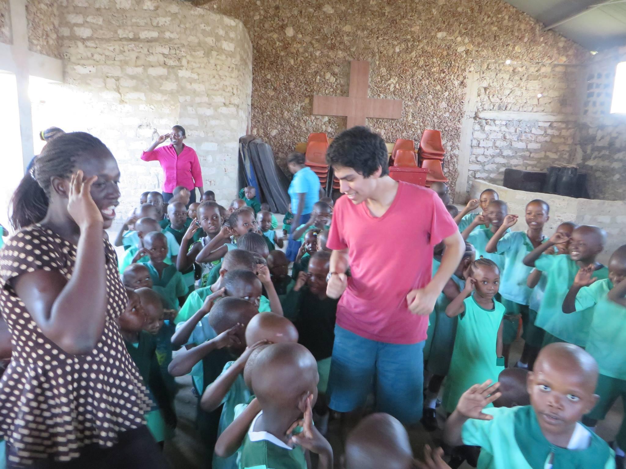 Ben in Kenya