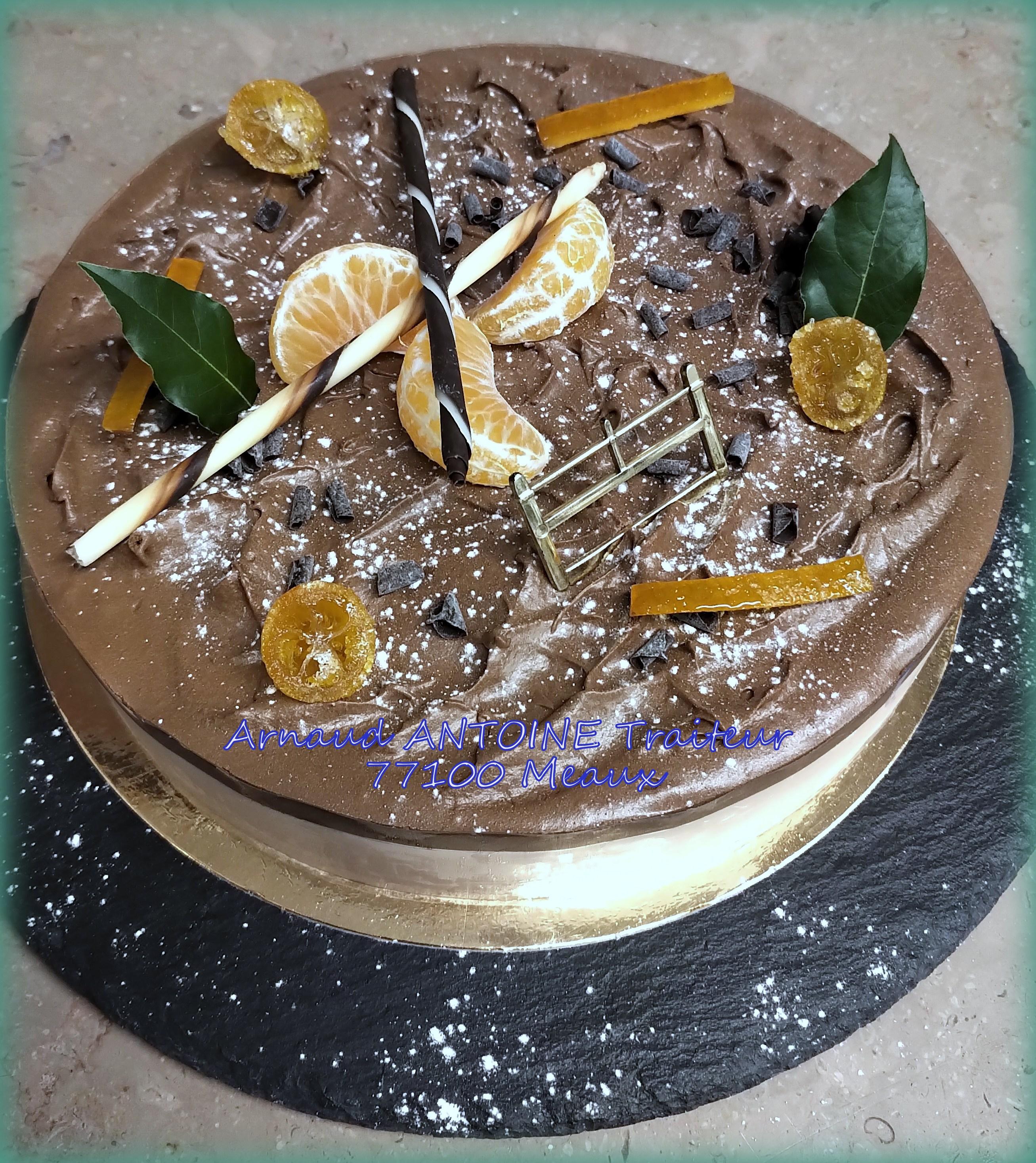 Délice mandarine - chocolat 77100