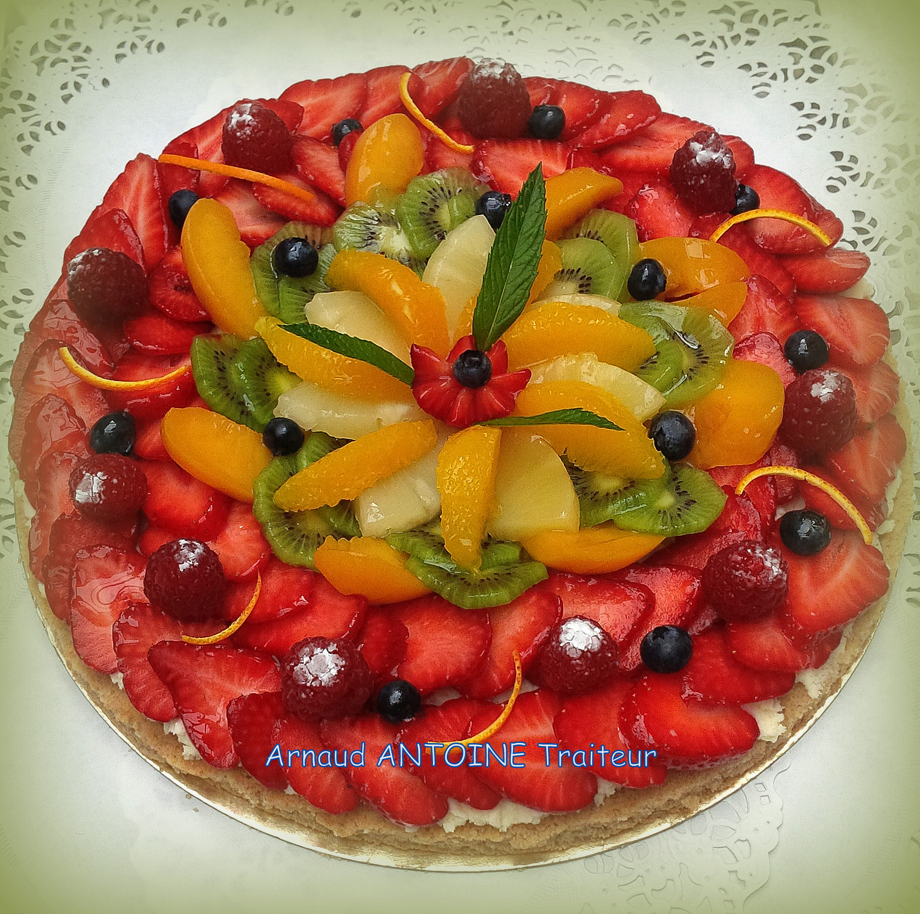 Tarte multifruits 77100 Meaux
