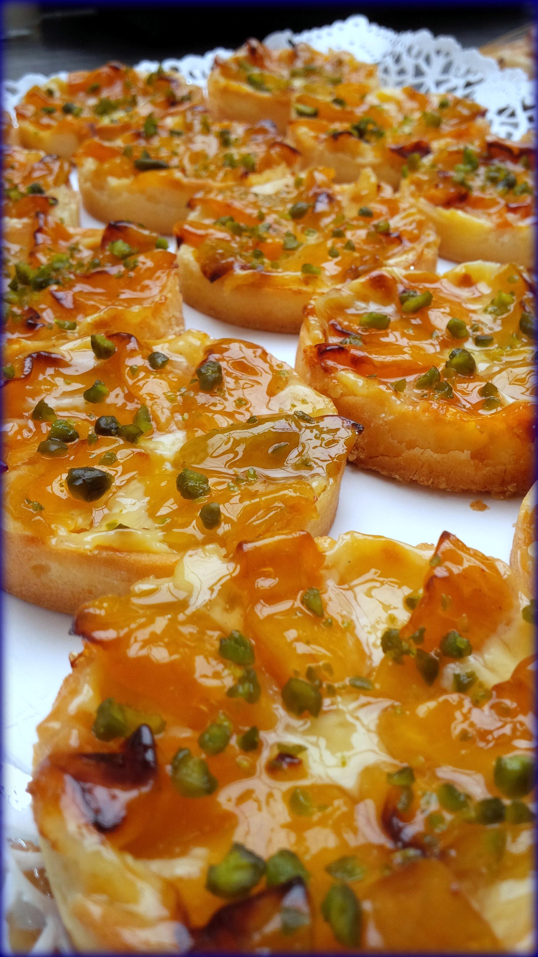 Tartelettes abricots 77100 Meaux