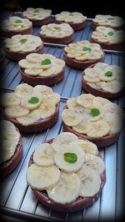 Tartelettes chocolat bananes maison  77100 Meaux