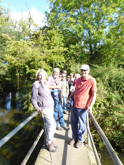 The gang on the weir