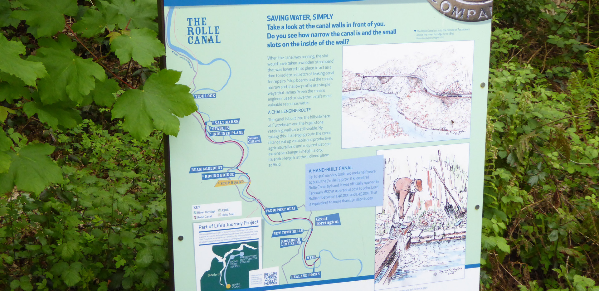 The old canal info