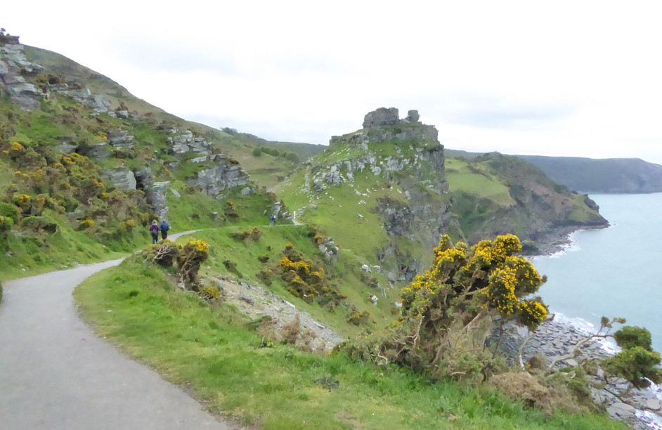 Footpath to the Valley of the Rocks