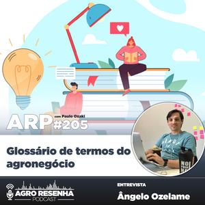ARP#205 - Glossário de termos do agronegócio