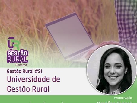 GR#21 - Universidade de gestão rural