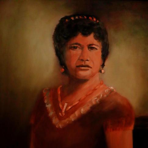 Princess Po'omaikelani Granddaughter of Kaumuali'i  1839-1895