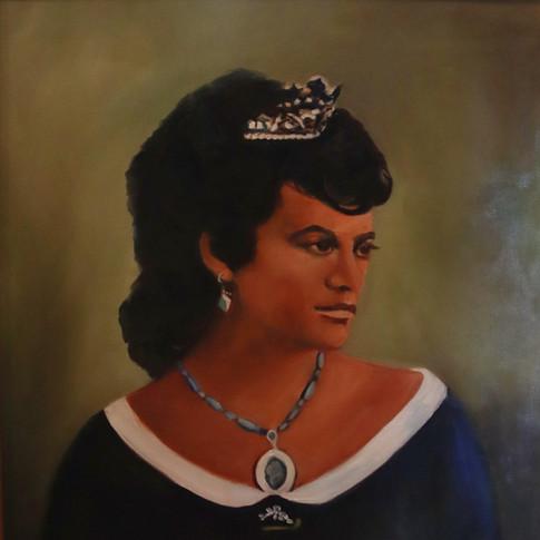 Princess Kekaulike Granddaughter of Kaumuali'i  1843-1884