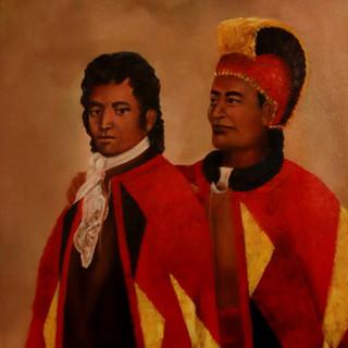 Prince Humehume and King Kaumuali'i