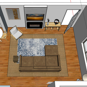 Initial renders of our design