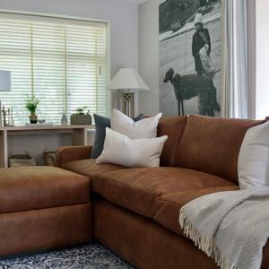 Bespoke sofa & cushi