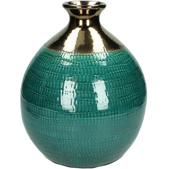 Petrol Handmade Ceramic Vase