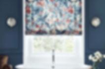 Linwood Fabric, Roman Blind