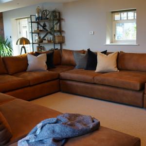 Large U Shape Sofa