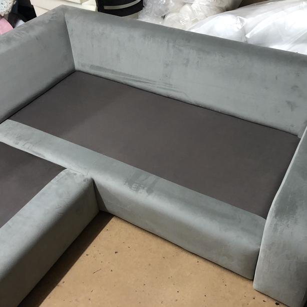 Corner Sofa in the Workshop