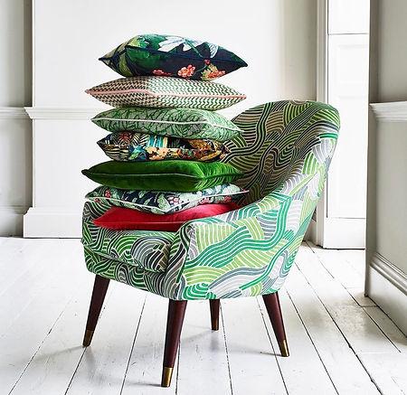 Linwood Fabric, Upholstery, Cushions