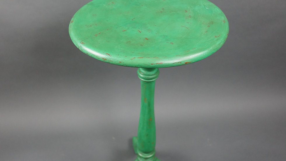 Green Distressed Wine Table
