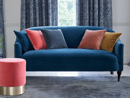Choosing the right velvet for your sofa