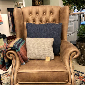 Wing Chair in Linwood Eco Leather