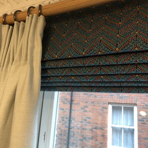 Roman Blind and Dress Curtains