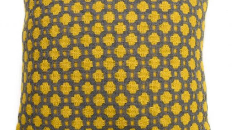 Pure New Wool - Crossroads Yellow and Solid Grey