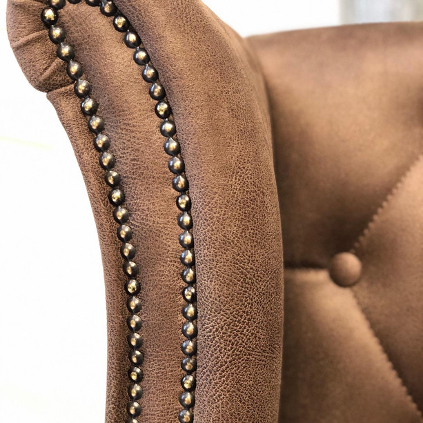 Wing Chair detailing