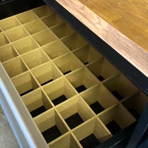 Heavy duty bottle drawers