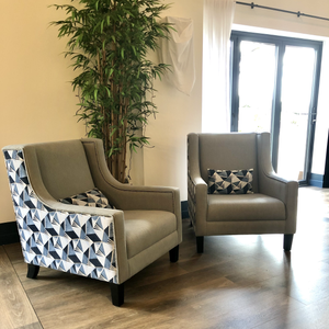 Statement Modern Wing Chairs