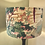 Thumbnail: Lampshade - Jungle Rumble Velvet Fabric, Champagne Liner - 40cm
