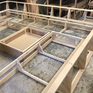 Handmade sofa frame