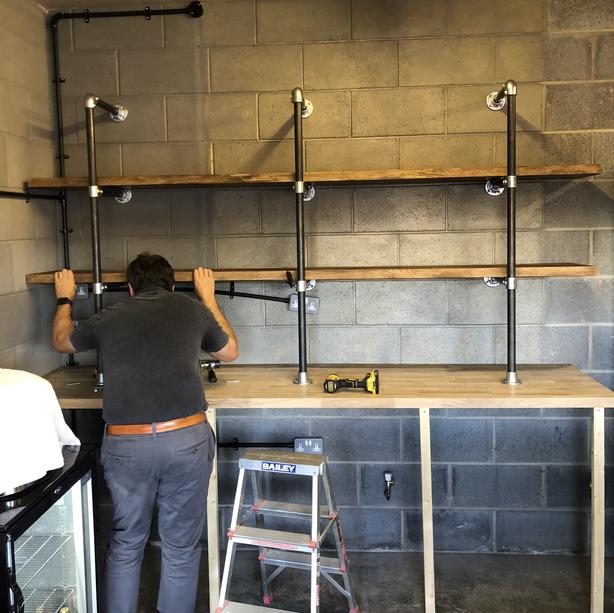 Installation day