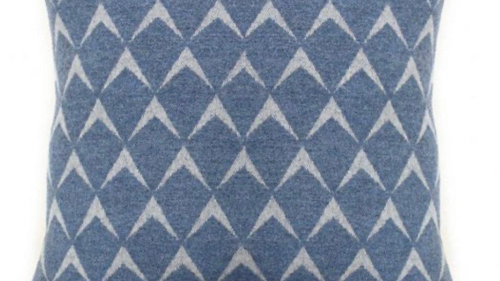 Merino Wool Cushion - Coastal
