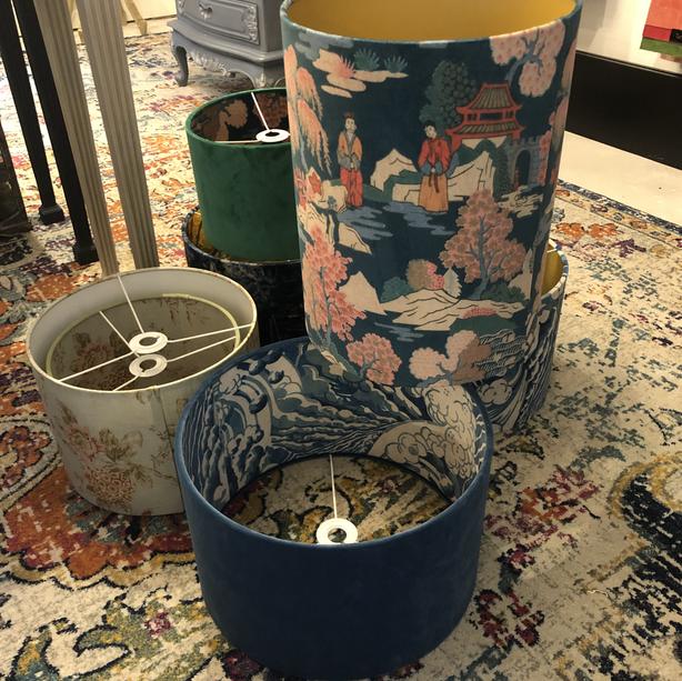 Custom made lampshades