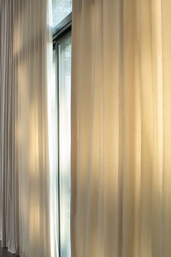 Somfy motorised curtains
