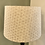 Thumbnail: Lampshade - Cream and Oatmeal Linen Weave Cream Liner - 25cm Tapered
