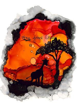 Serengeti 11 x 14 Print