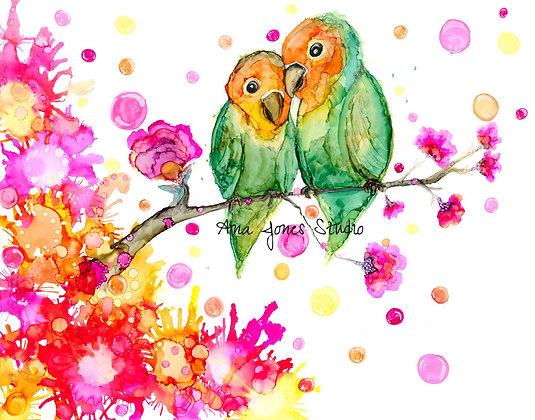 Los Amores 11 x 14 Print
