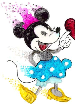 Minnie 11x 14 Luster Print