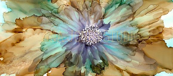 Blue Oasis 12 x 24 Full Frame