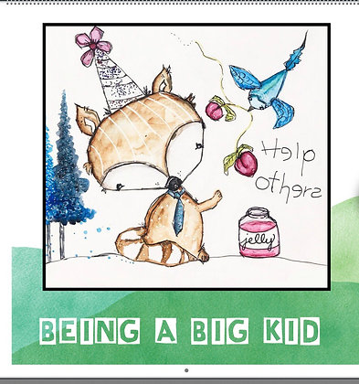 Being a Big Kid 2021 Calendar