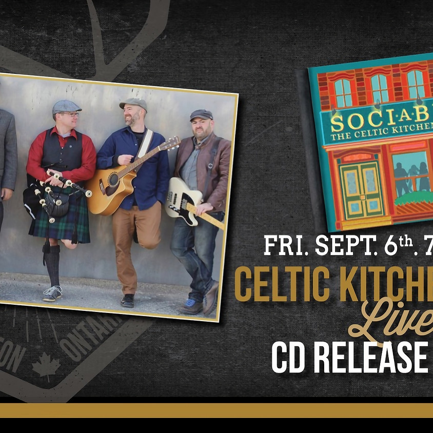 The Celtic Kitchen Party CD release party!