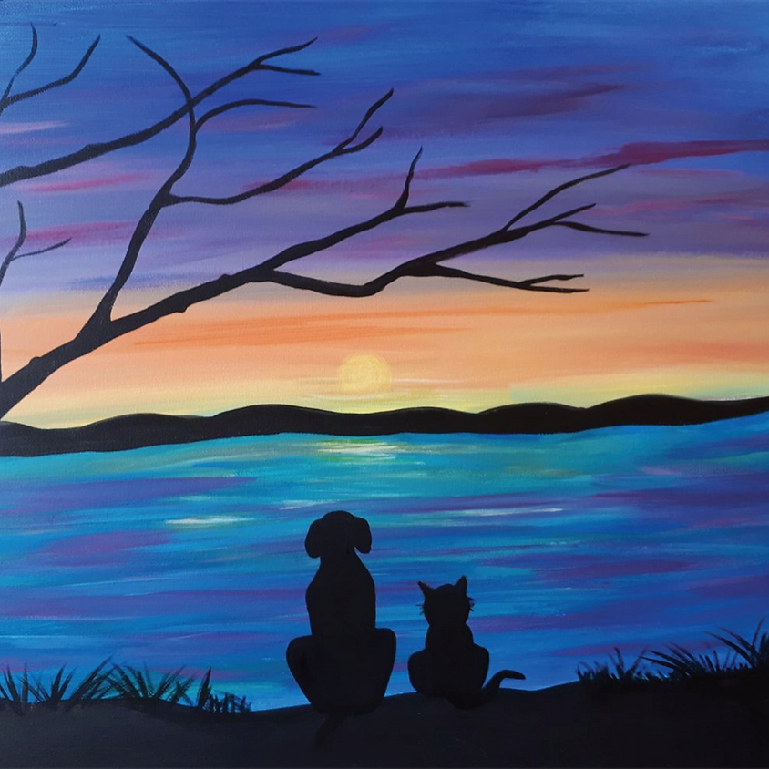 Purposeful Painting FUNdraiser for Kingston Animal Rescue