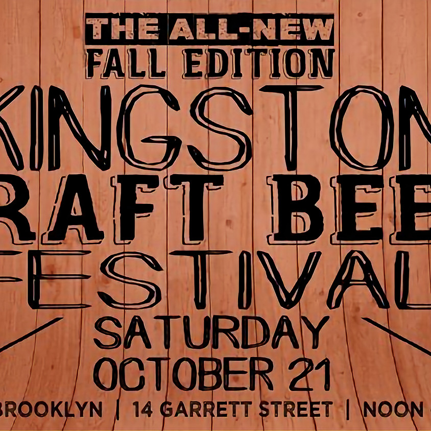 Kingston Craft Beer Festival: All-New Fall Edition