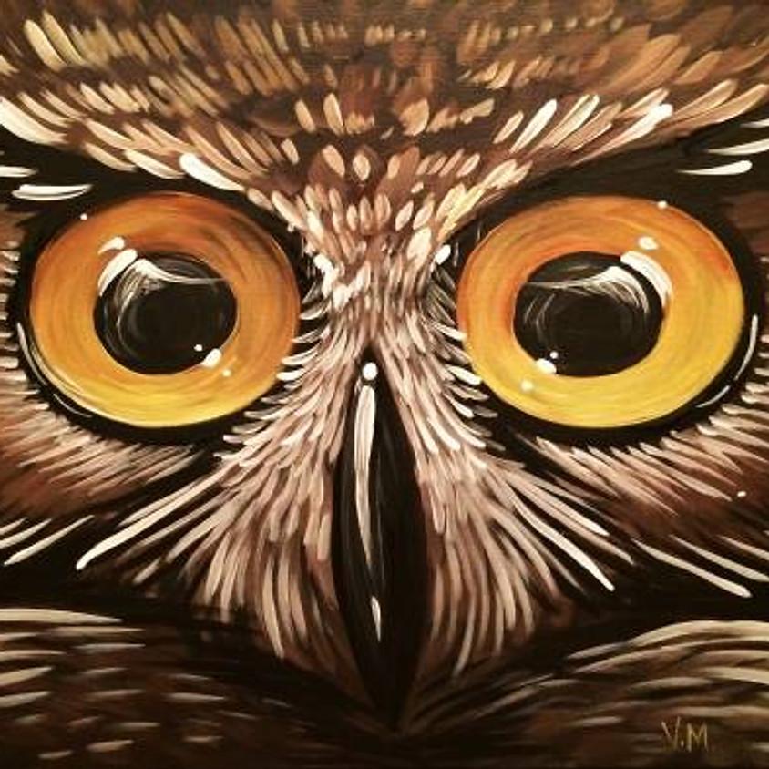Paint Nite: Winter Blue Jay