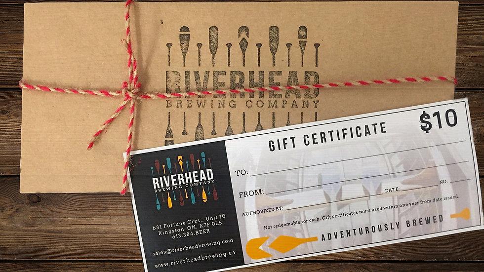 $10 Riverhead Gift Certificate