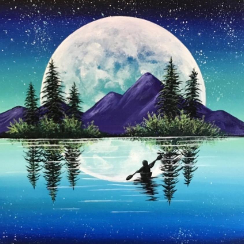 Paint Nite: Moonshine Mountains