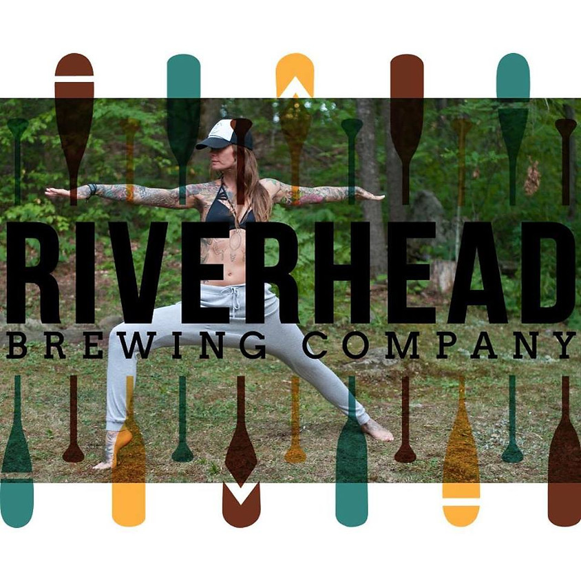 Yoga at the brewery with Painted Lady Fitness