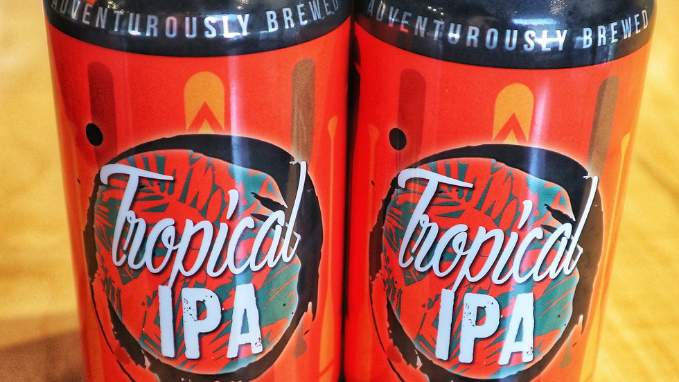 4 PK of Tropical IPA for pick-up