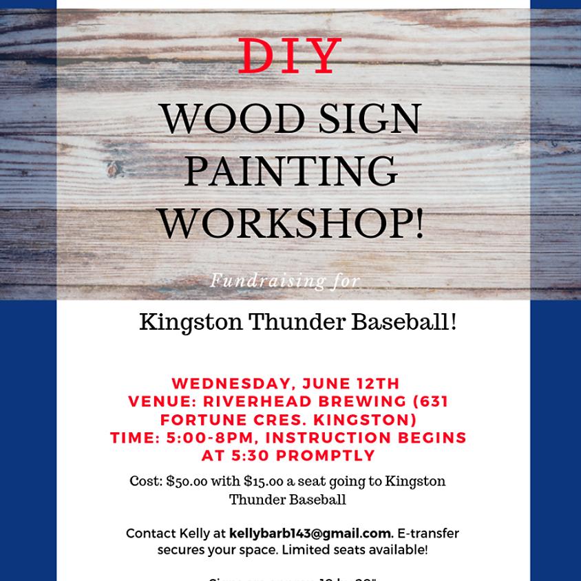 Wood Painting Workshop